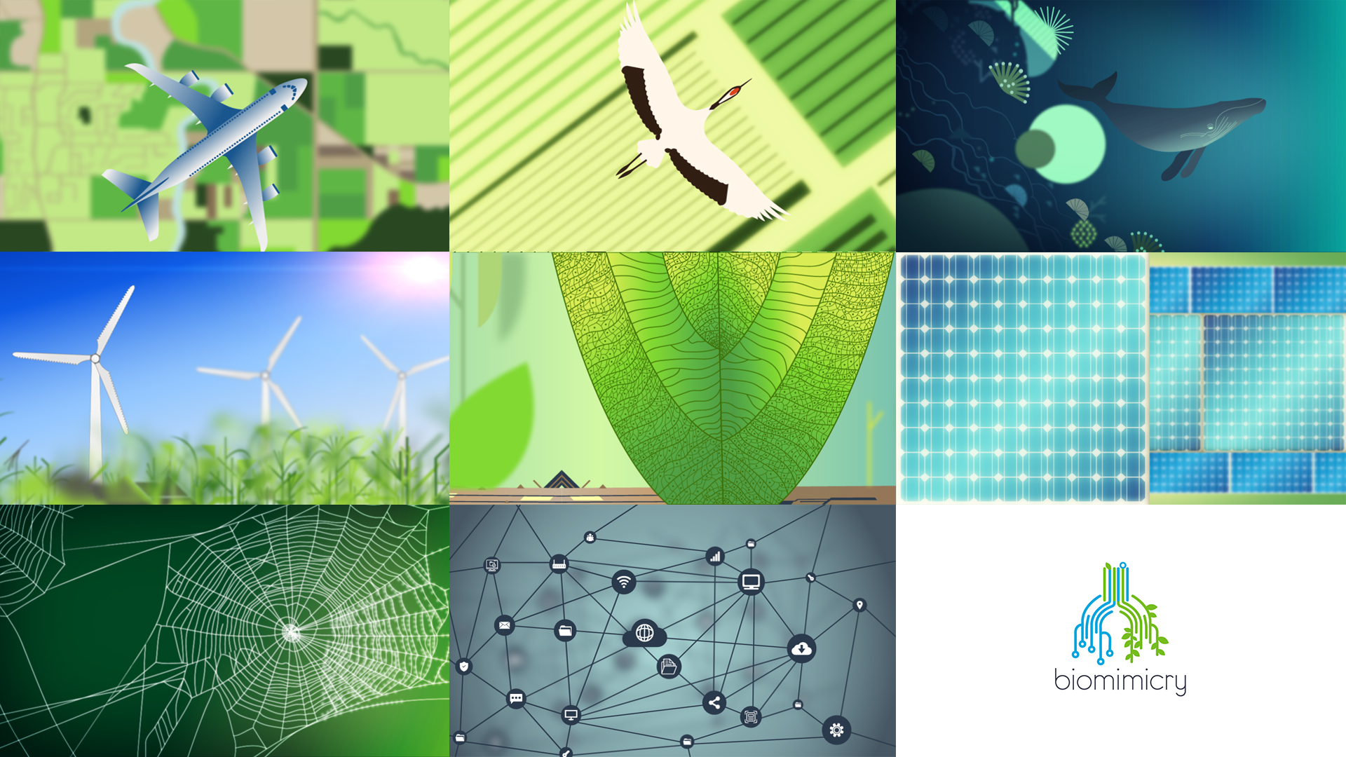 Biomimicry compositing