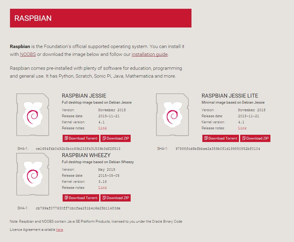 raspberrian