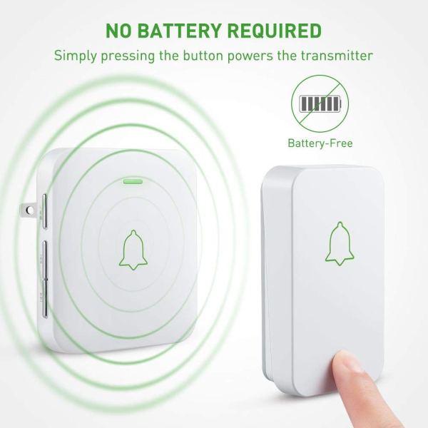 no battery kinetic doorbell