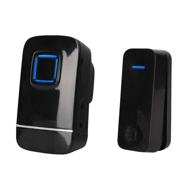 kinetic doorbell black
