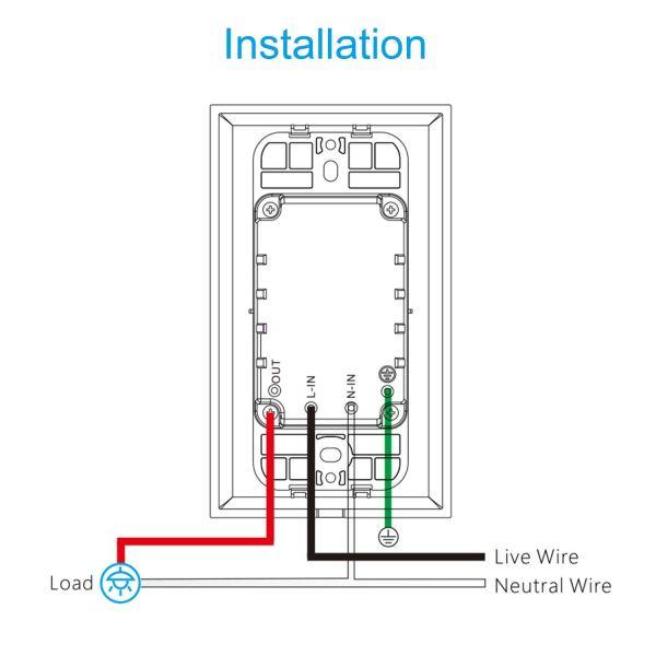 smart wifi light switch installation