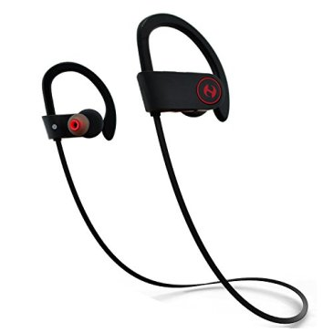 Hussar Magicbuds Best Wireless Sports Earphones with Mic, IPX7 Waterproof