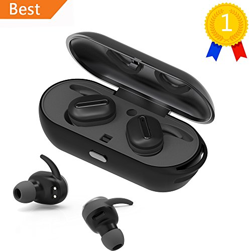 LEMFO-Air-TWS-Mini-Bluetooth-Earbuds-True-Wireless-Stereo-Headphones-Invisible-In-ear-Headsets-Secure-Fit-Sweatproof-Sports-Earphones-with-Mic-for-Android-IOS-Smartphone-Black-0