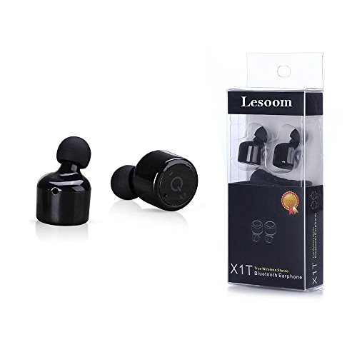 Lesoom X1T Mini Invisible Wireless Bluetooth Earbuds
