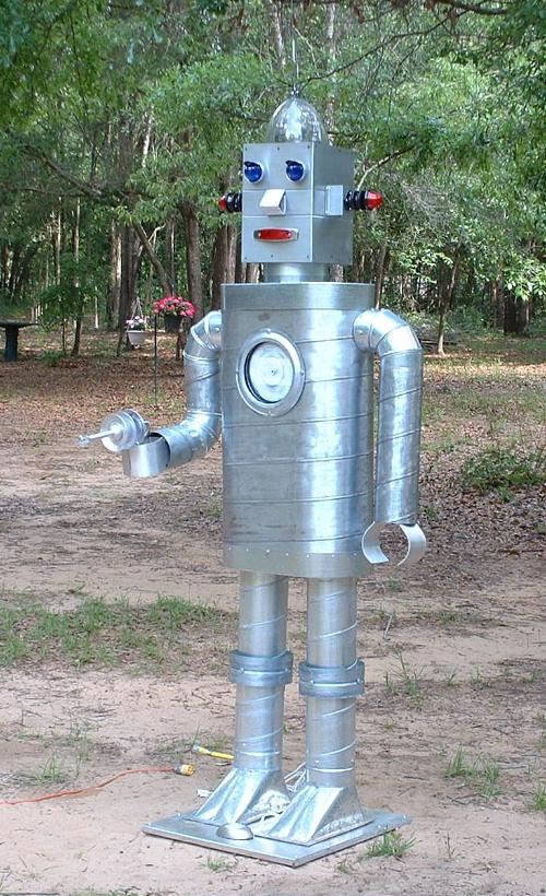 Beware the robot!