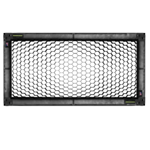 4' x 8' Soft Egg Crate by Honeycrates - 50° Overhead, Wrap Around Style