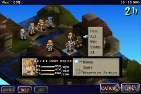 Final Fantasy Tactics IPhone The Basics IGN