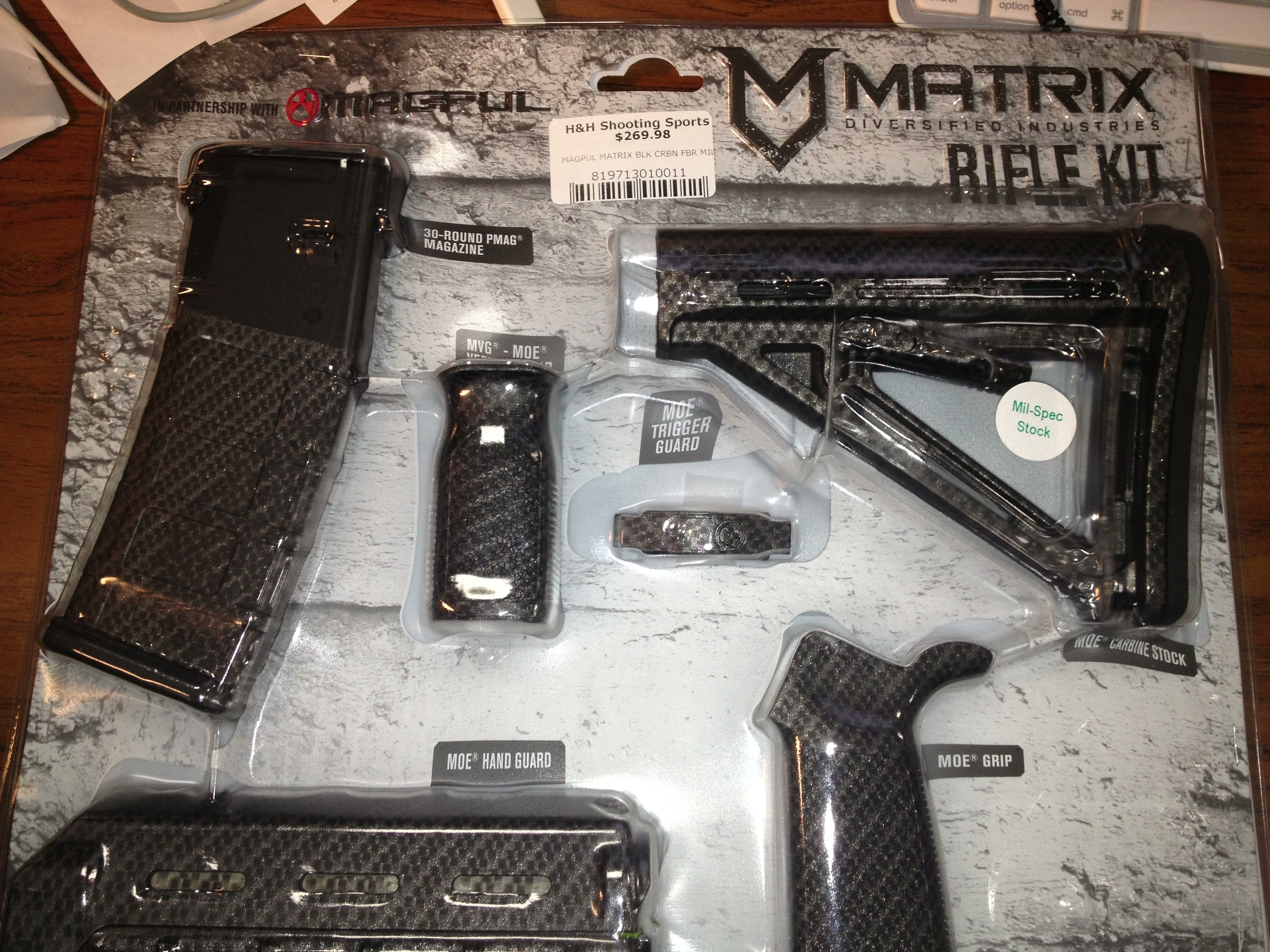 Matrix Rifle Kits With 30 Round Pmag Now At H Amp H Wireshots Com