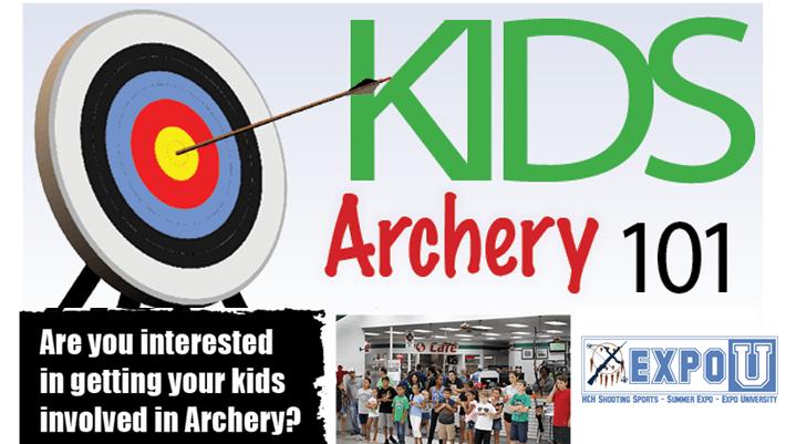 H&H Summer Expo – Kids Archery Class – WireShots com
