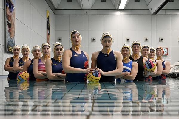 Wasserballerinnen des ASV Wien