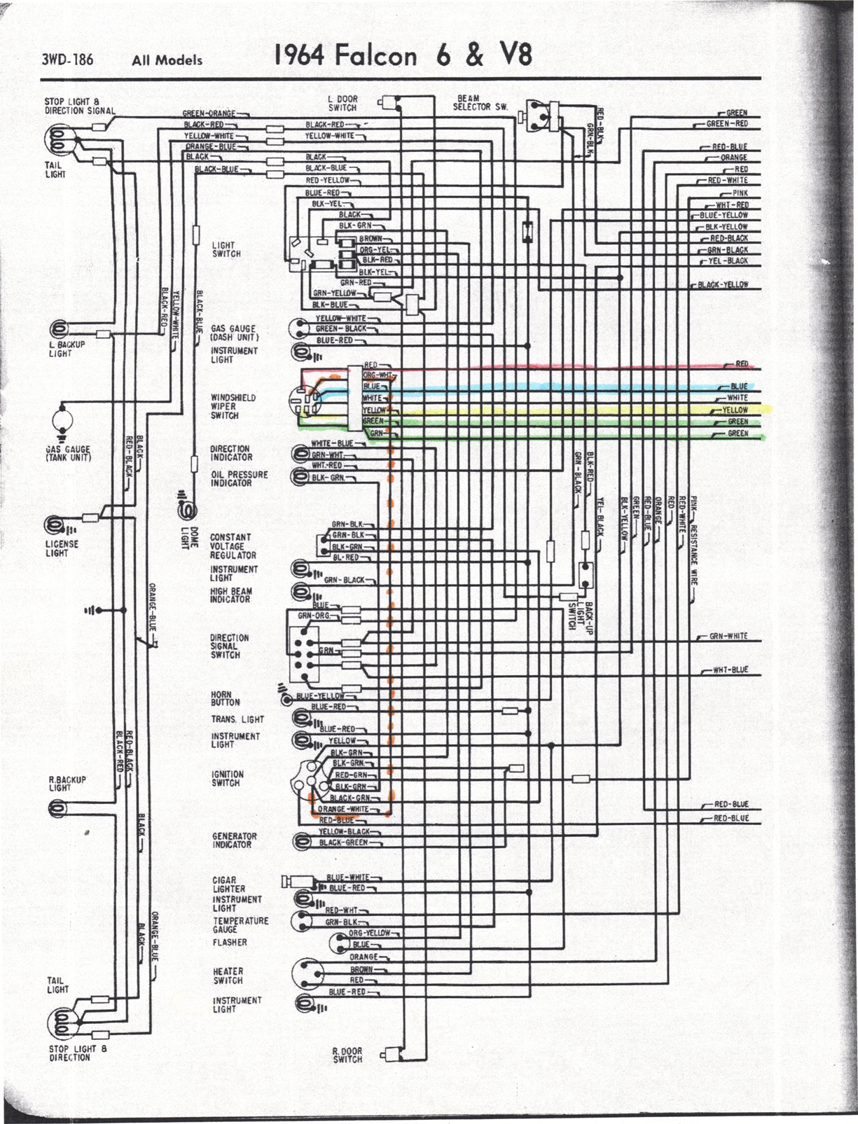 Ford Ranchero Wiring Diagram