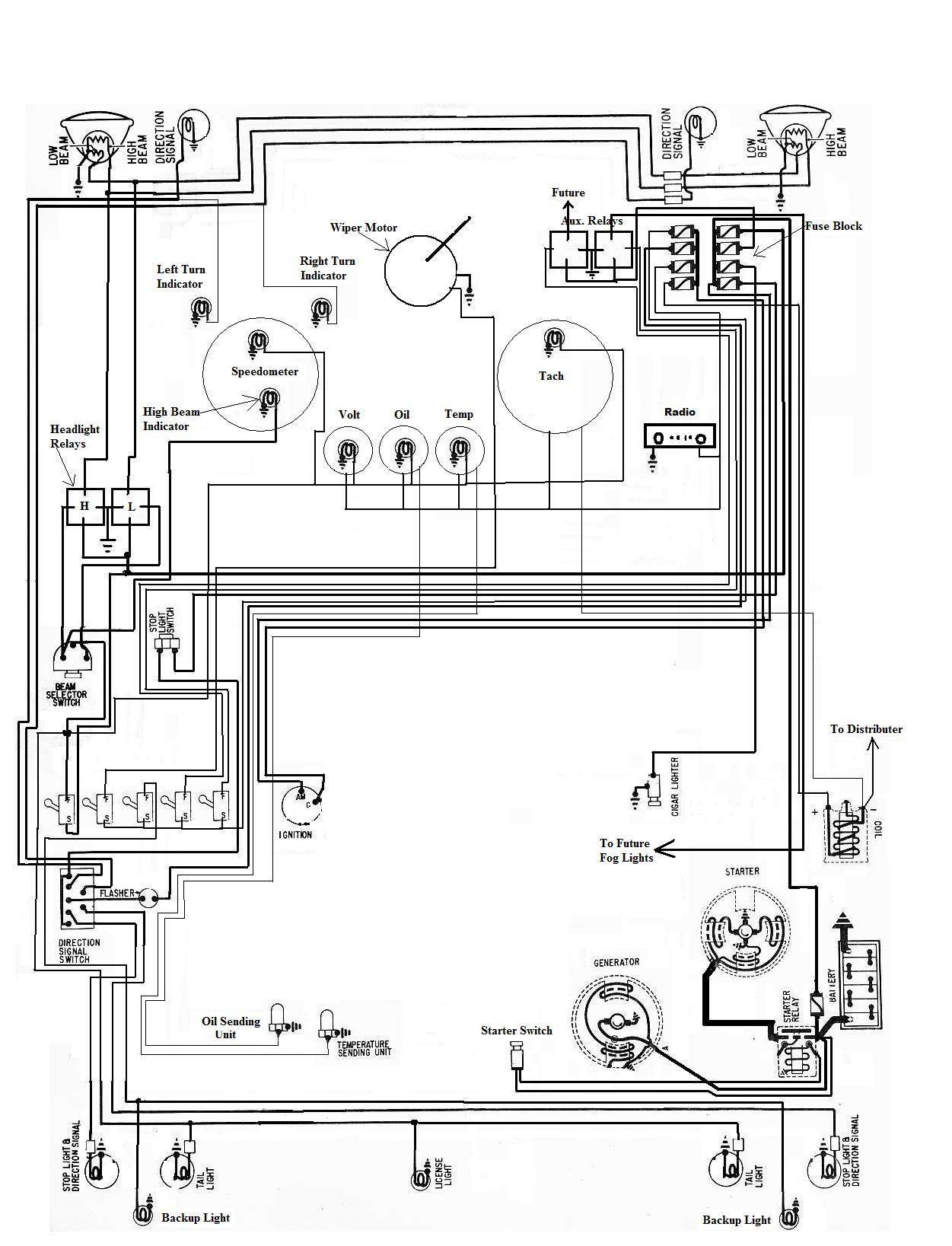 35 Vw Dune Buggy Wiring Diagram