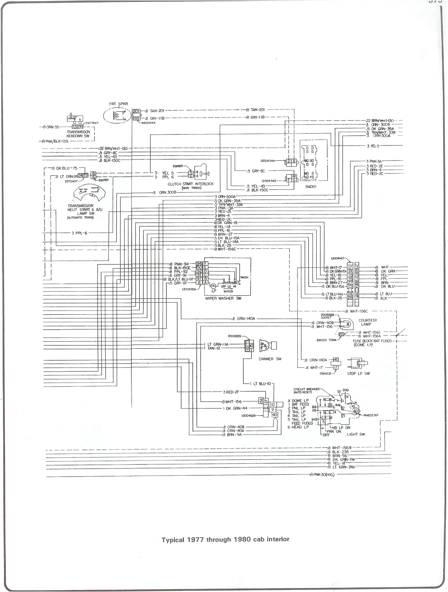 Chevrolet Stepside Tail Light Wiring Diagram