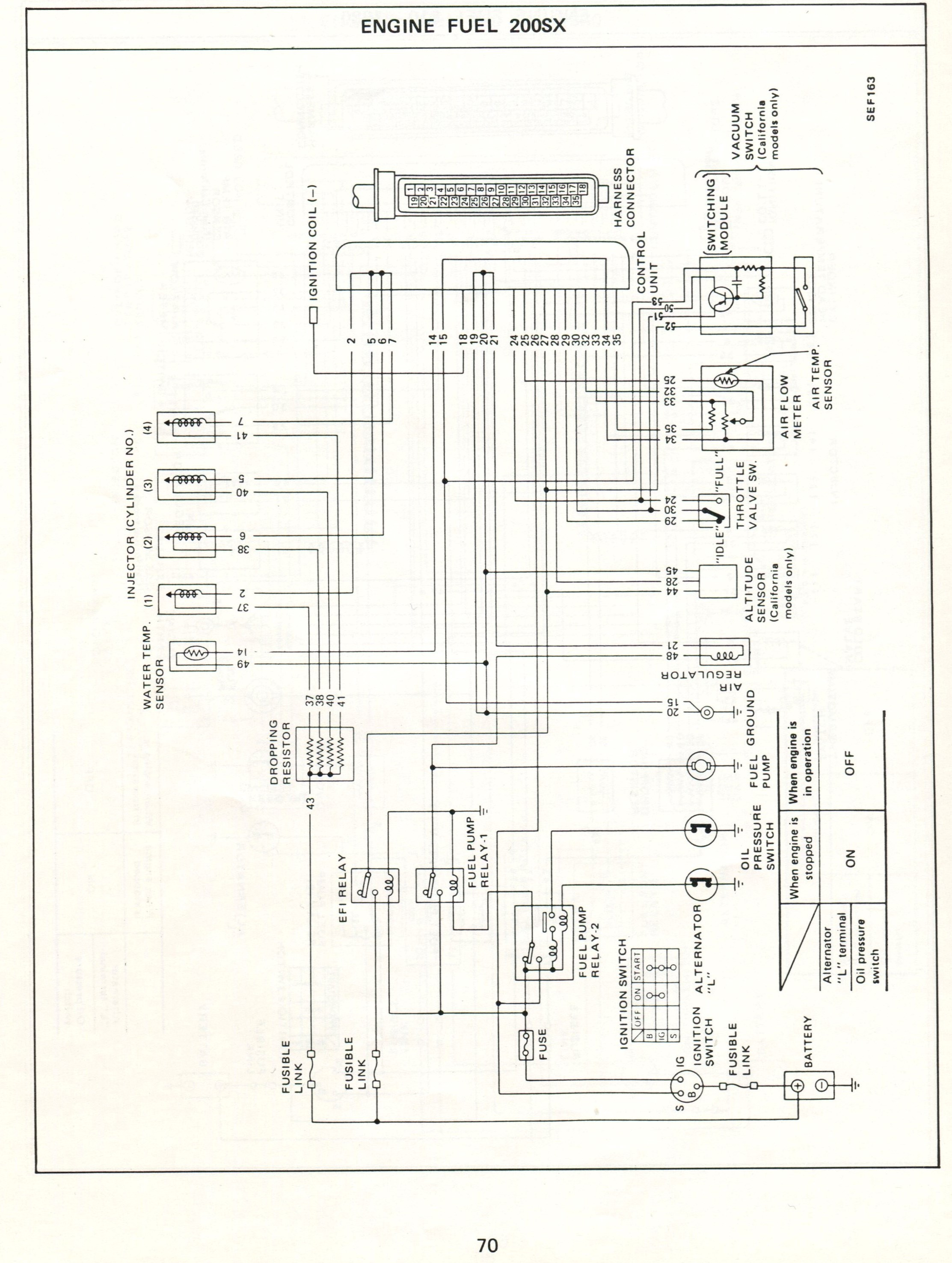 Datsun 280z Fuel Pump Wiring Diagram
