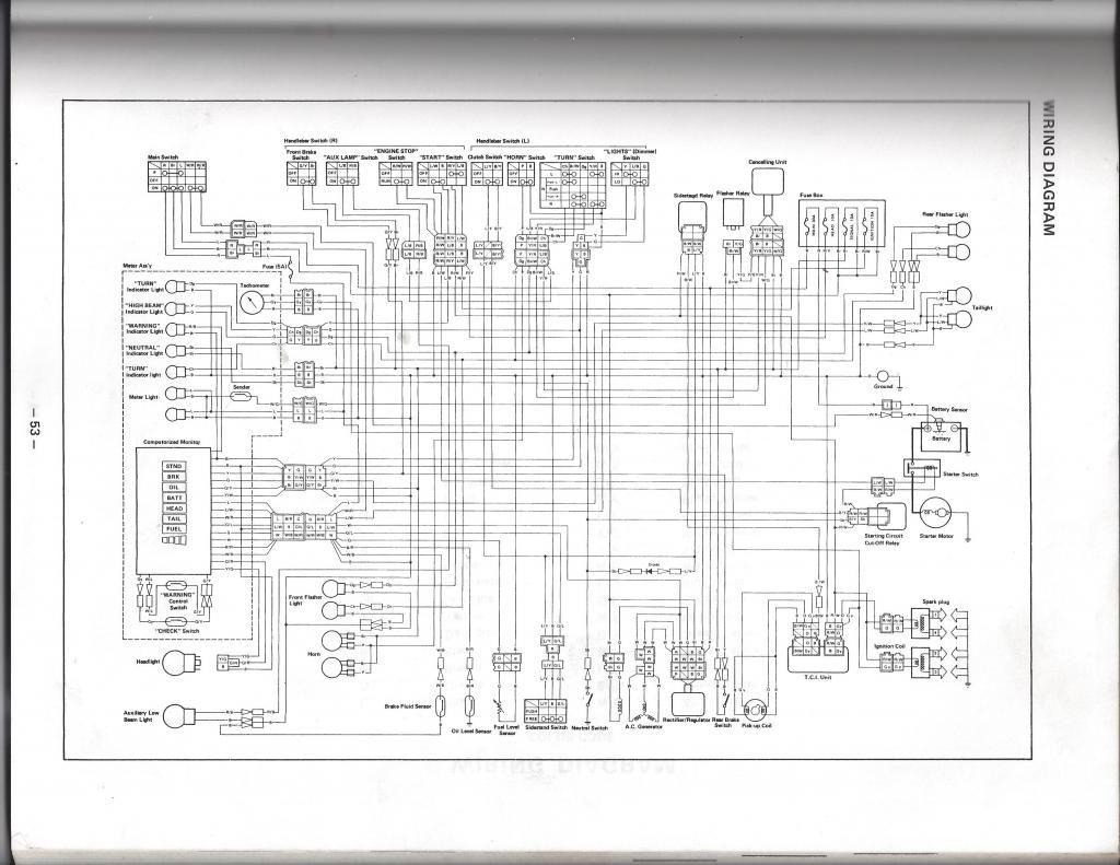 Yamaha Virago 750 Wiring Diagram