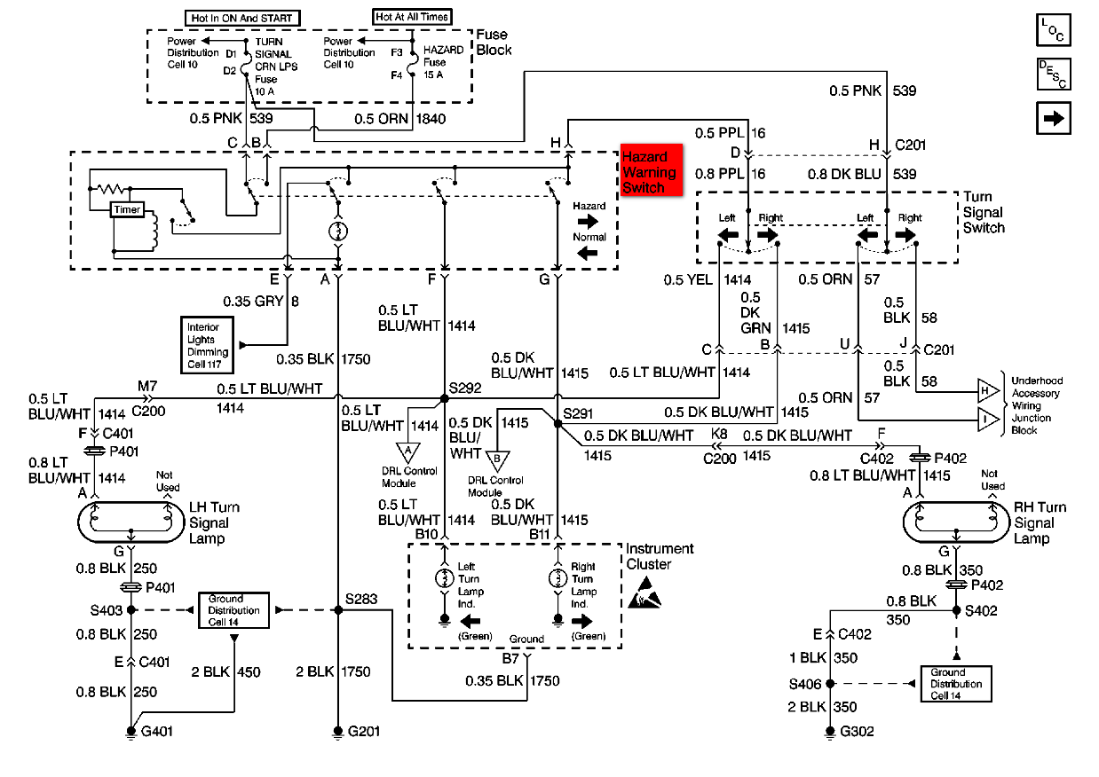 1994 Oldsmobile vada Wiring Diagram | Wiring Liry on