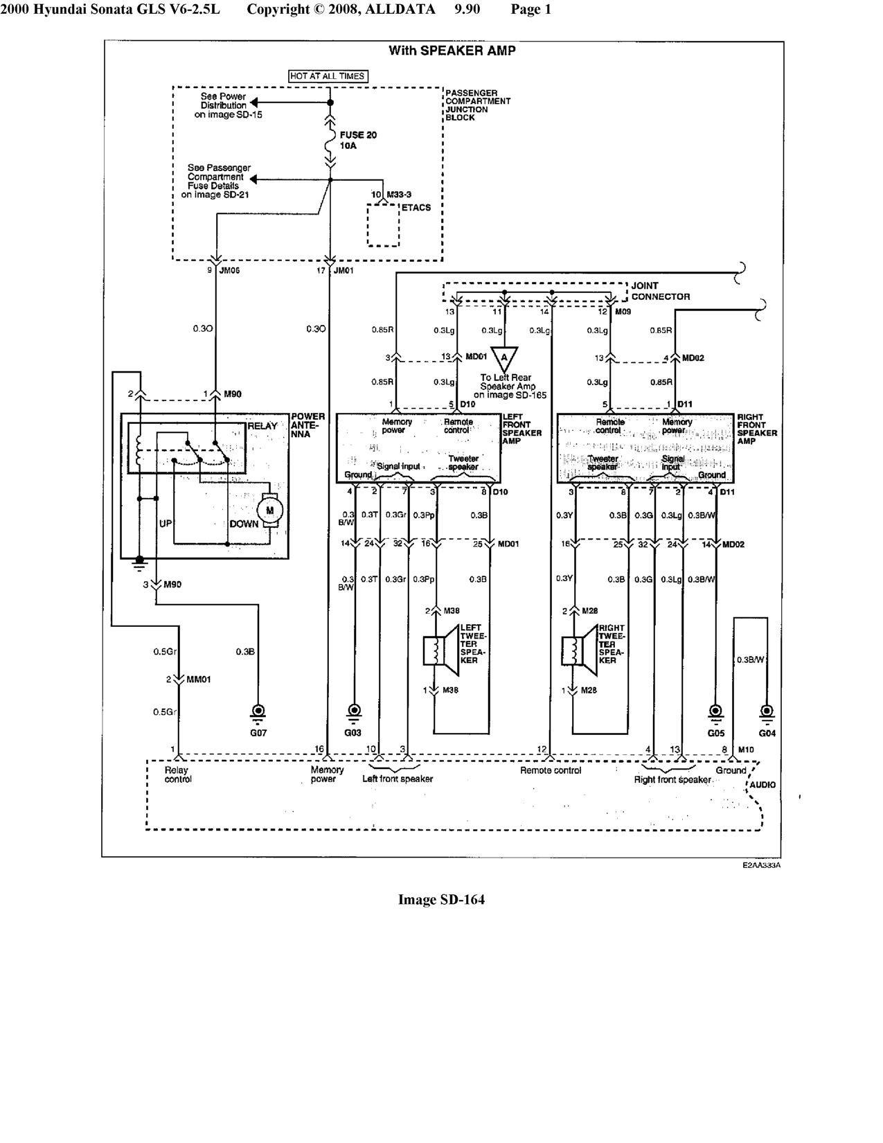 Hyundai Tiburon Gt Stereo Wiring Diagram Infinity