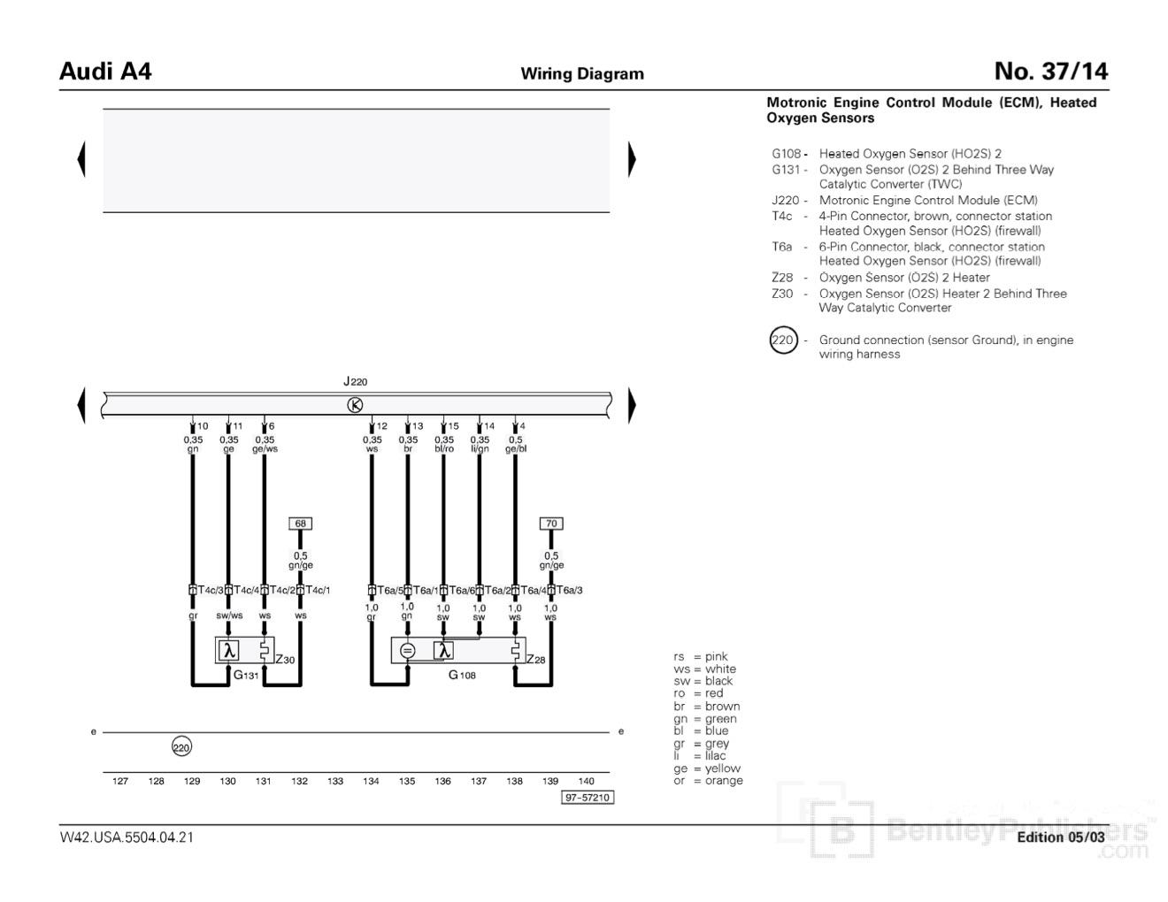 Vw Passat 1 8t O2 Sensor Wiring Diagram
