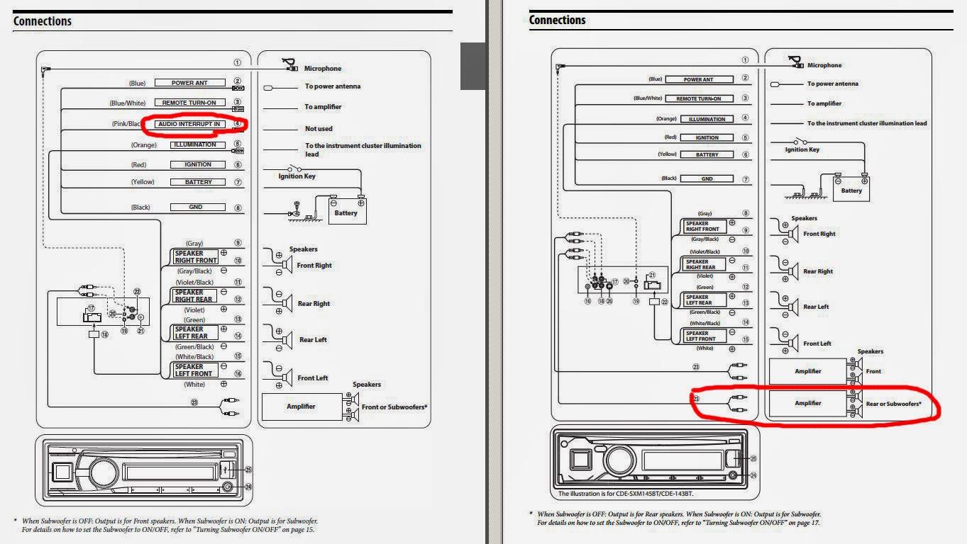 Alpine Cde 121 Wiring Diagram