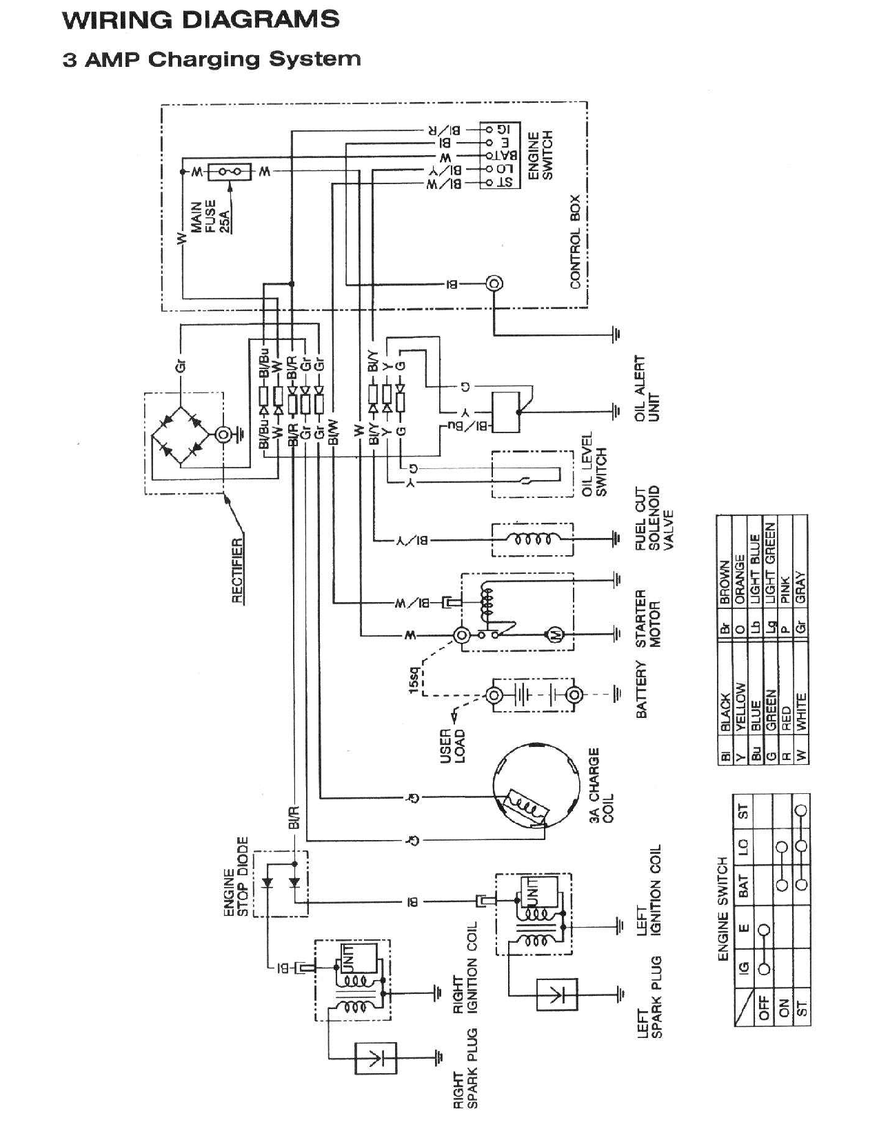 Briggs And Stratton Charging System Wiring Diagram Without