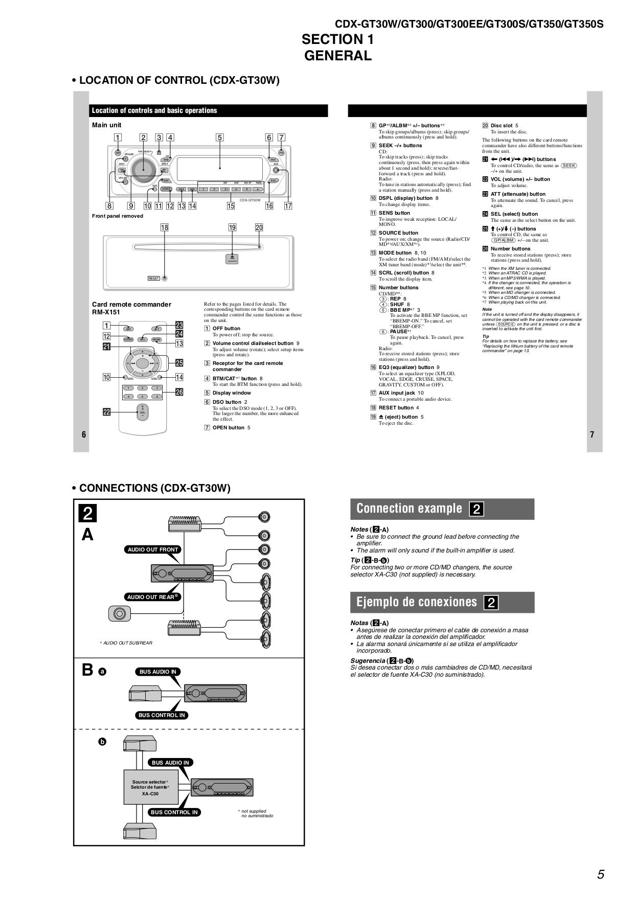 Cdx Gt310 Wiring Diagram