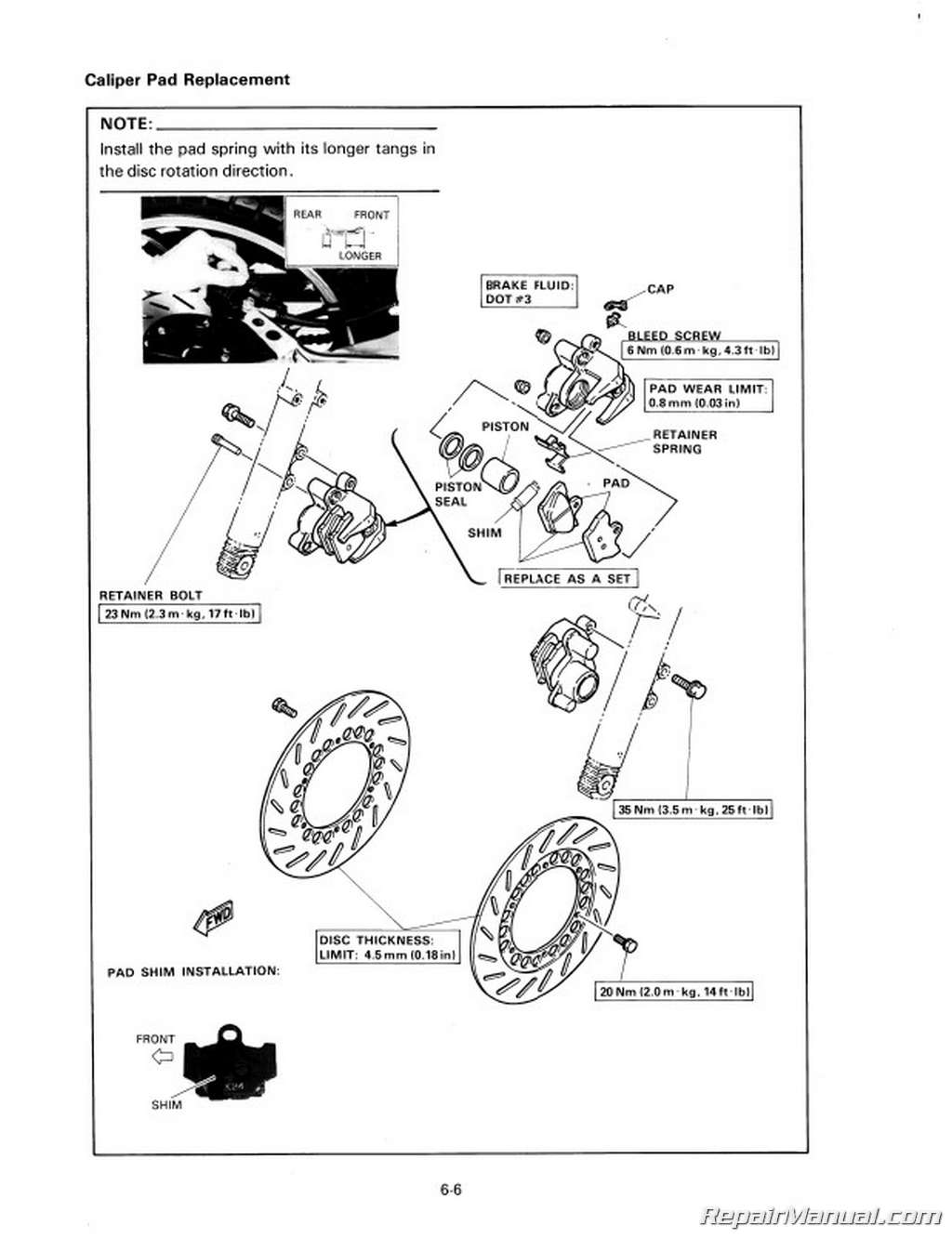 Colr Wiring Diagram Rz350