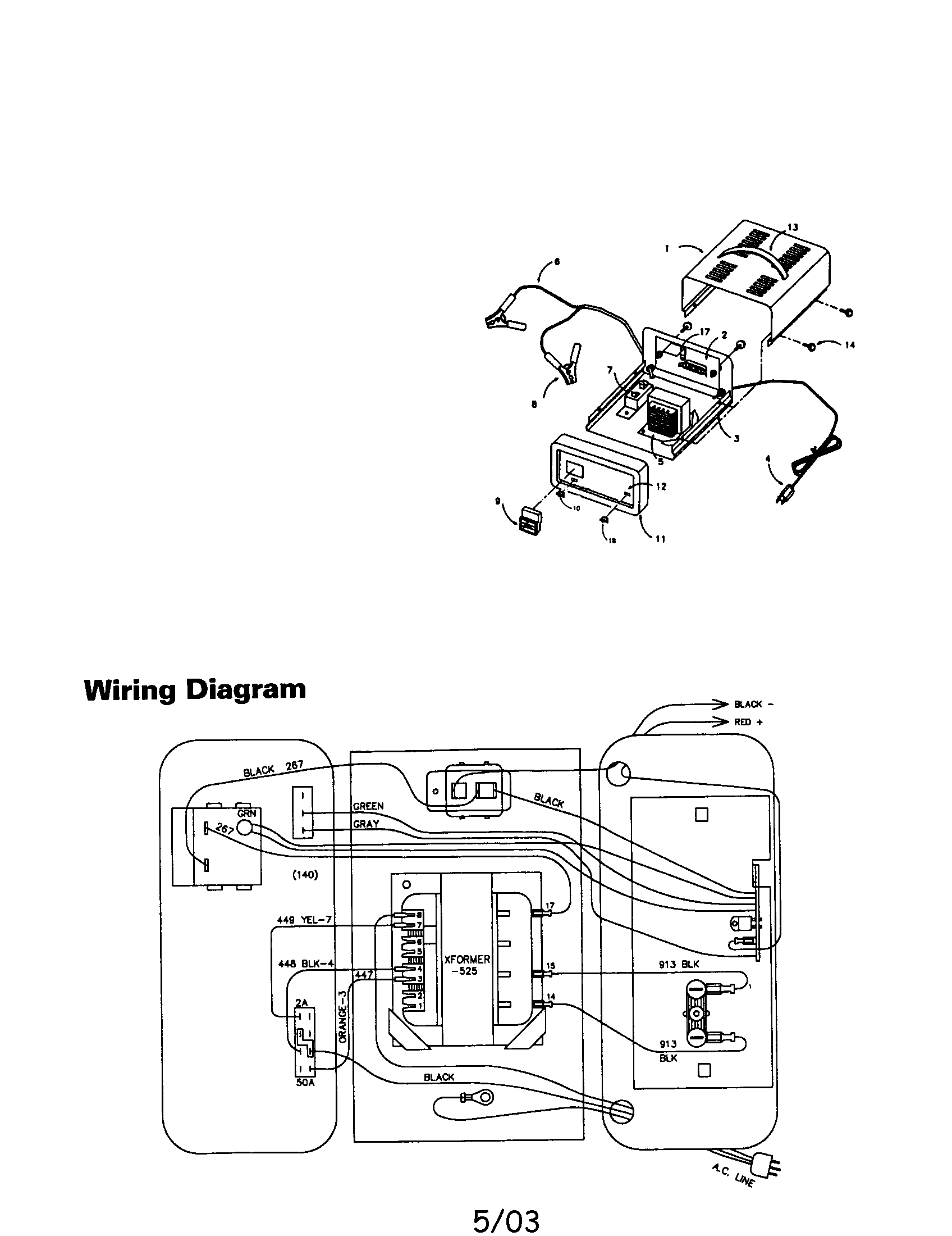 Hard Battery Charger Model 200 Wiring Diagram