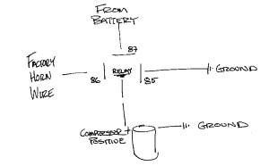 Dixie Air Horn Wiring Diagram