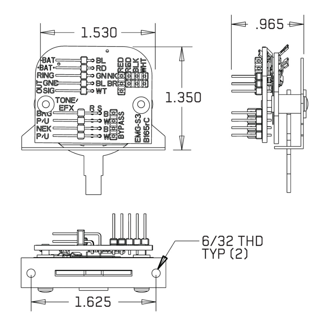 Emg Wiring Diagram Solderless