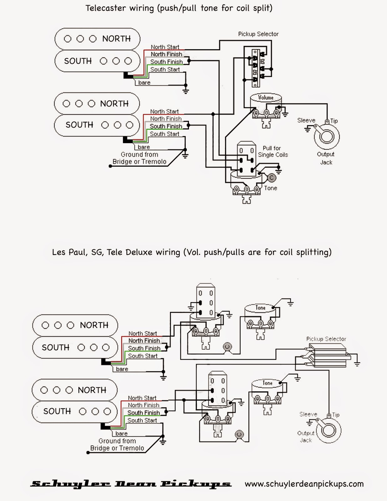 Epiphone Pickup Wiring Color Code
