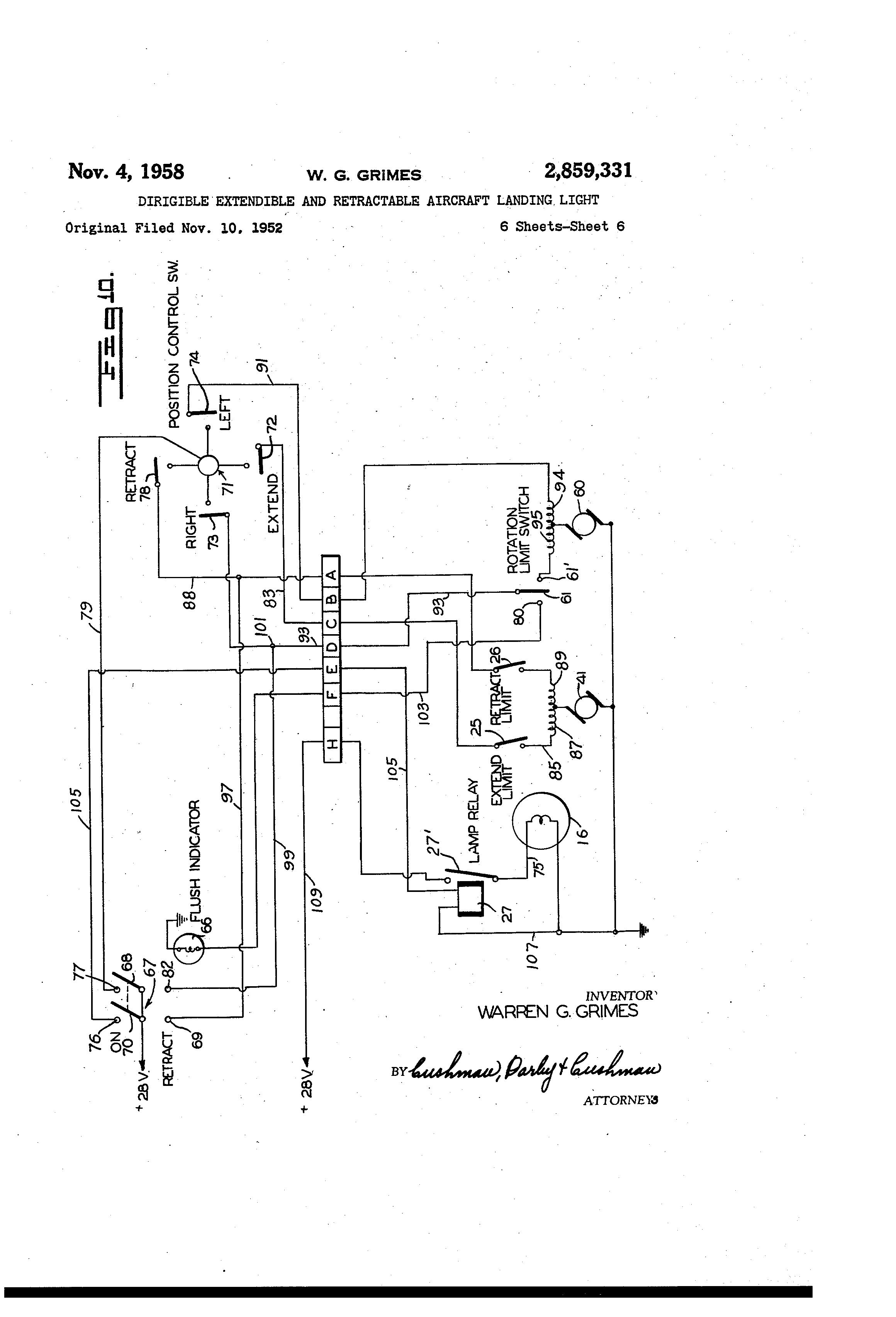 Grimes Landing Light Wiring Diagram