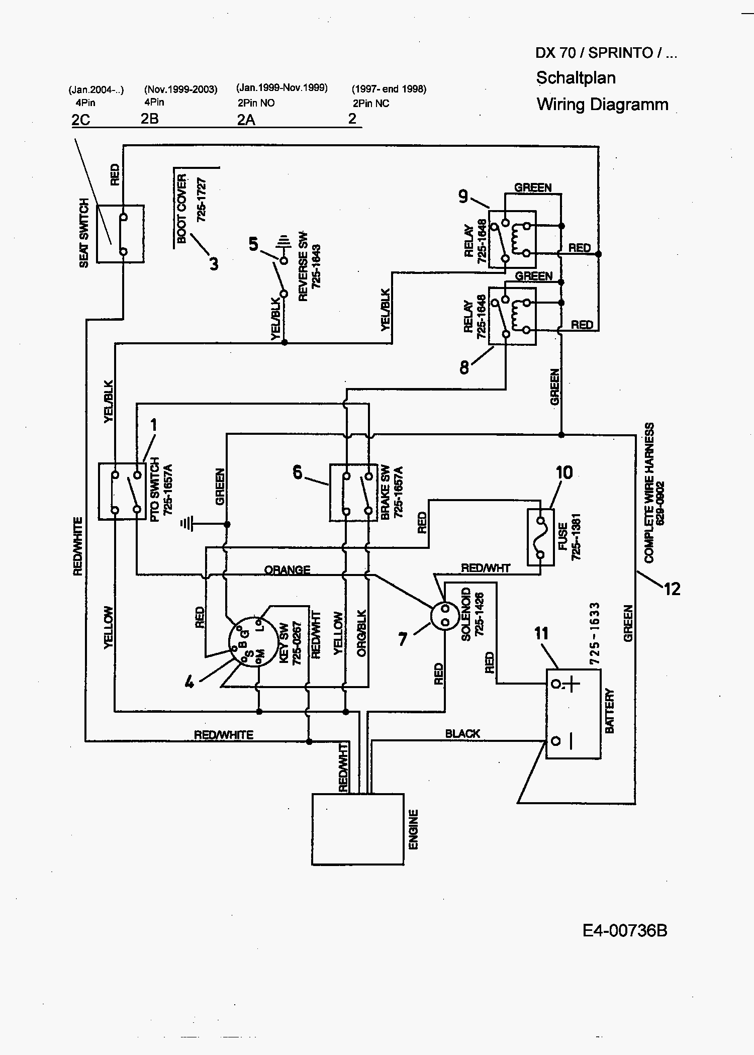 Huskee 12 40 Wiring Diagram