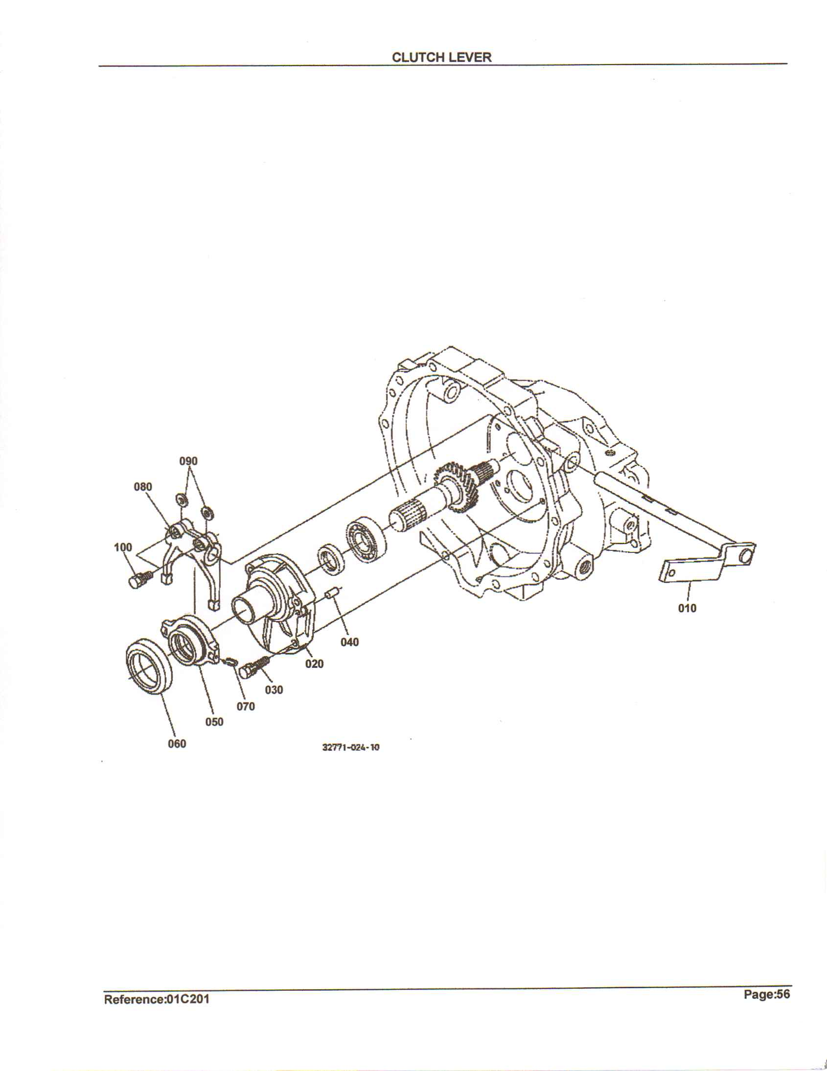 Kubota B Parts Diagram