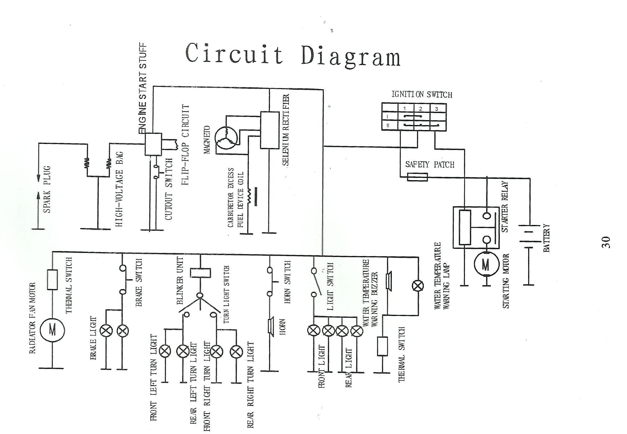 Lifan 110cc Motorcycle Mini Chopper Wiring Diagram