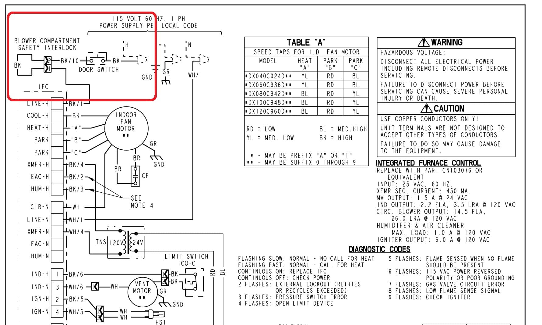 Low Voltage Wiring Diagram Trane Model Number Twe040e13fb2