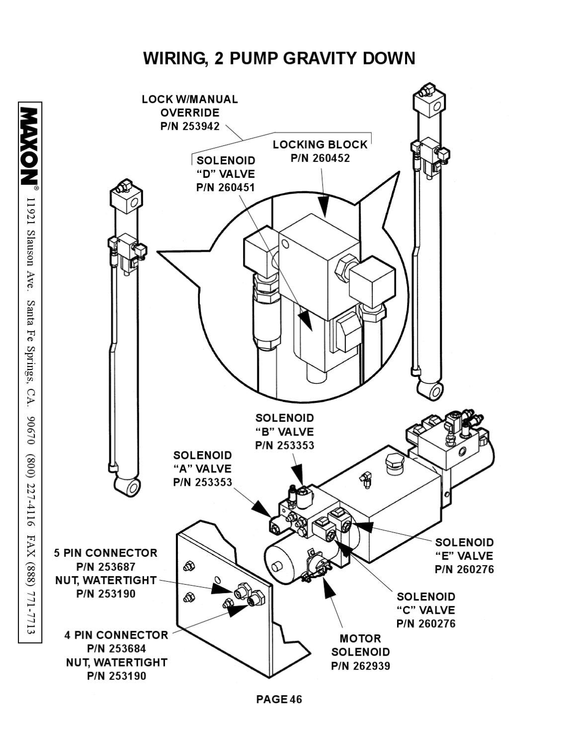 Maxon Liftgate Wiring Diagram