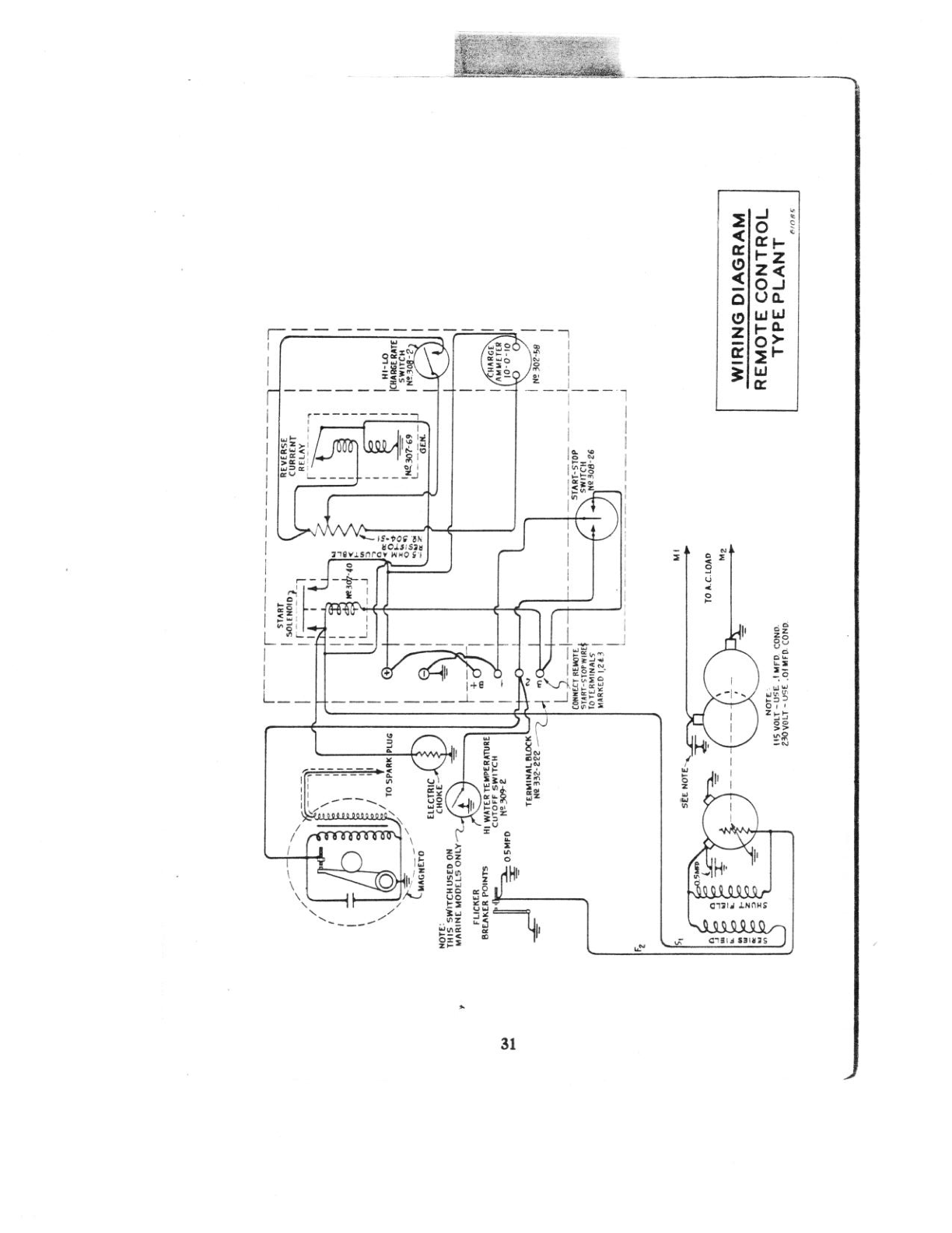 Onan Series Nh Remote Start Wiring Diagram