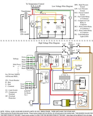 Packard C230b Wiring Diagram