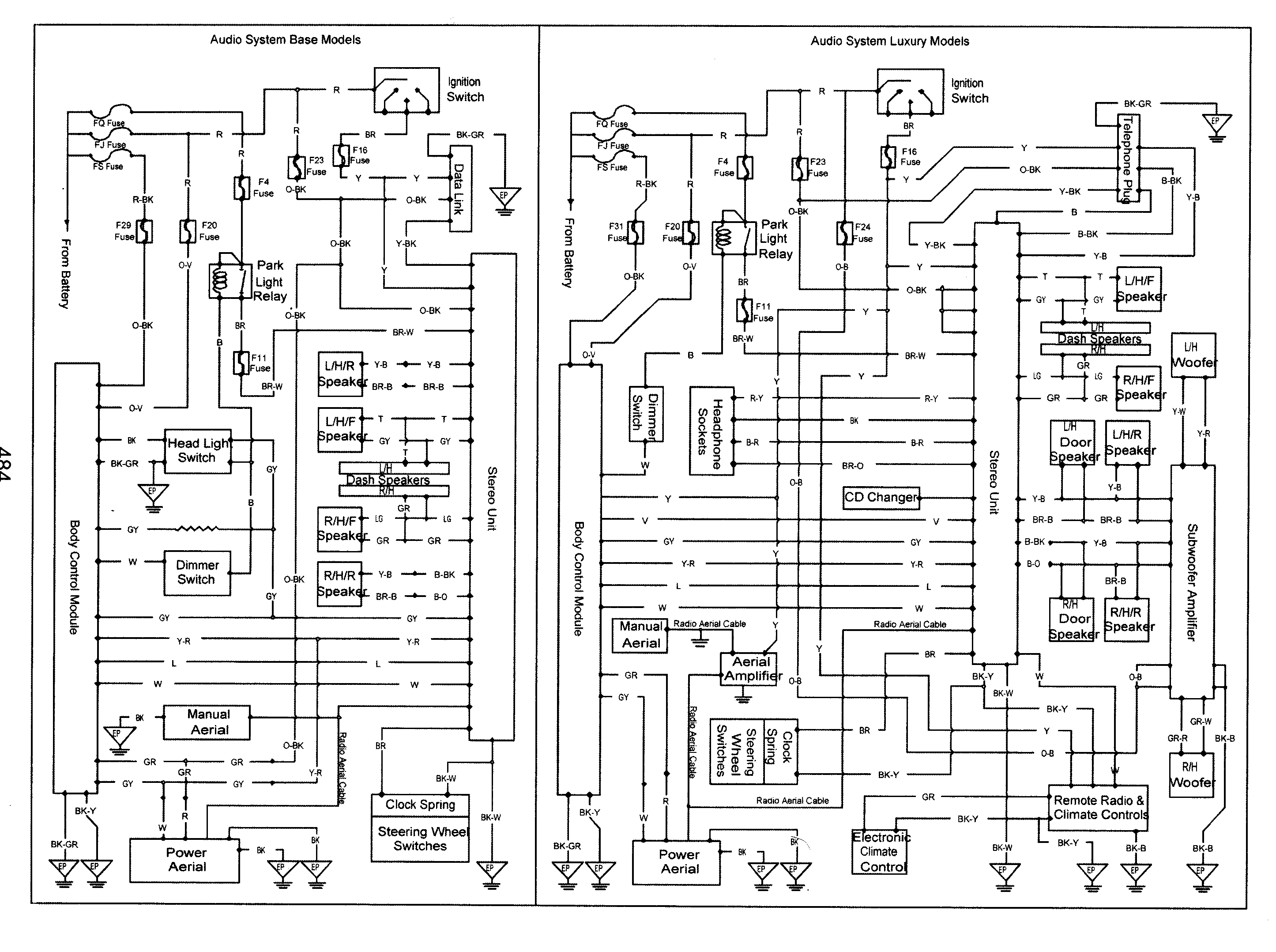 Vy Commodore Wiring Diagram Free