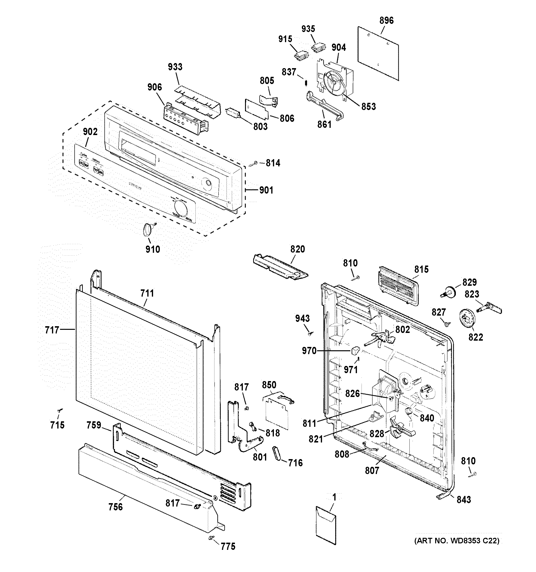 Wiring Diagram For Part Number M G On A Kenmore Dryer