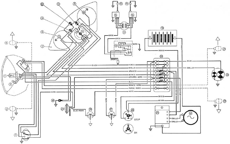 Wiring diagram for 860 gt ducati on index of 1975 ducati 750900 ss electrical wiring diagram jpg on Ducati Sport Classic Dash Bracket Ducati 900 Super Sport
