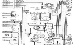 1965 Ford Galaxie Complete Electrical Wiring Diagram Part 2 | All