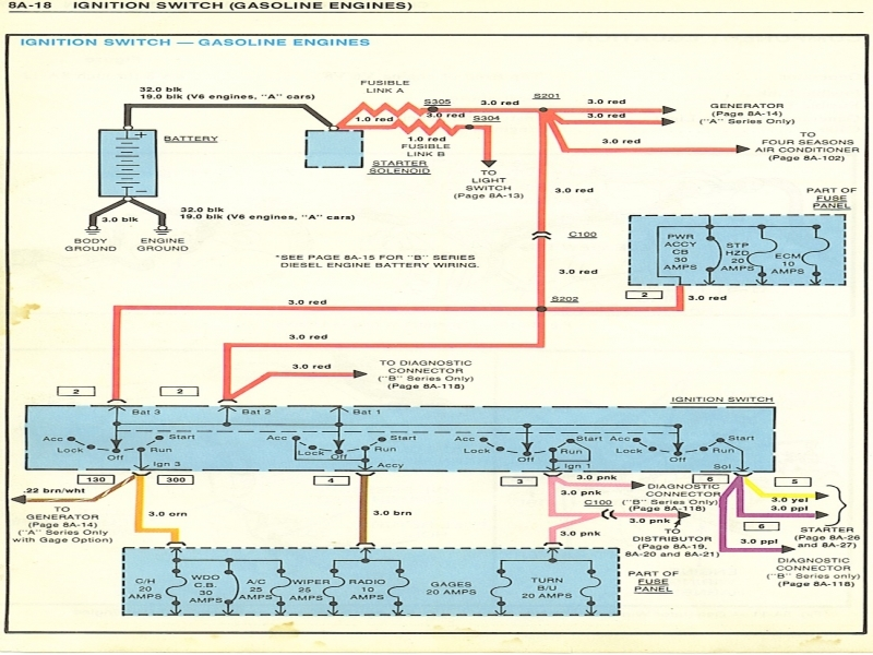 1970 chevy ignition wiring diagram 1970 camaro ignition wiring diagram
