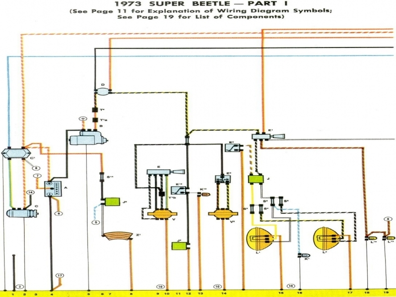 73 beetle starter wiring diagram starter wiring diagram beetle 1973 1973 vw beetle fuse box diagram - wiring forums