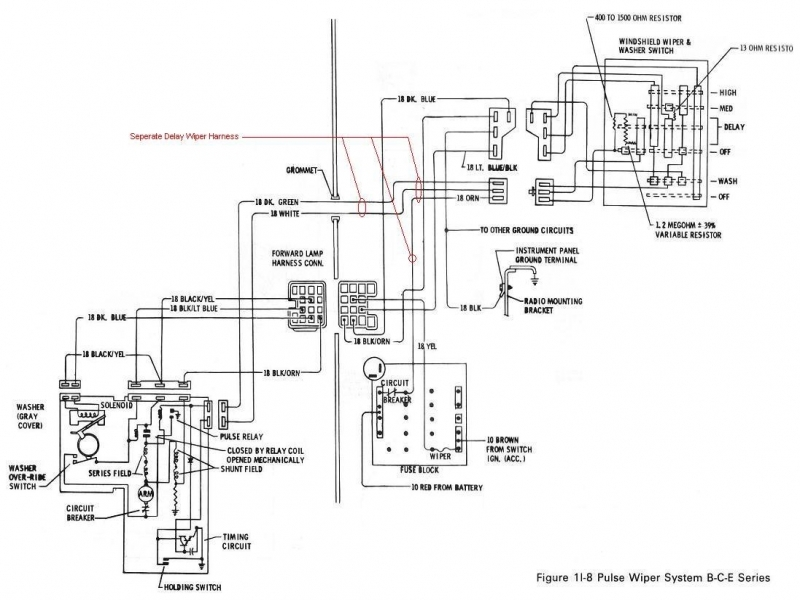 1980 Corvette Wiring Diagram & 1980 Corvette Radio Wiring