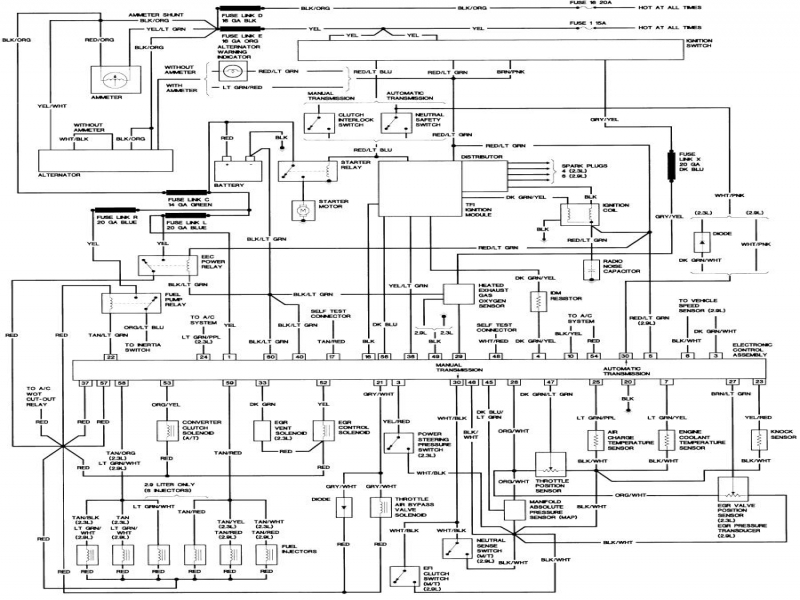 1989    Ford       Bronco    Ii    Wiring       Diagram        Wiring    Forums