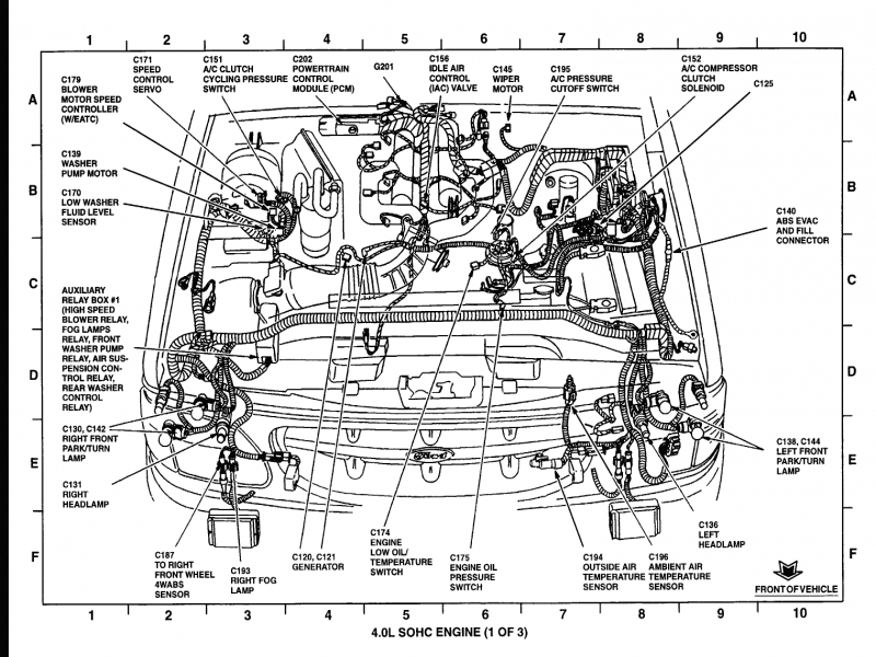 1992 ford ranger wiring diagram