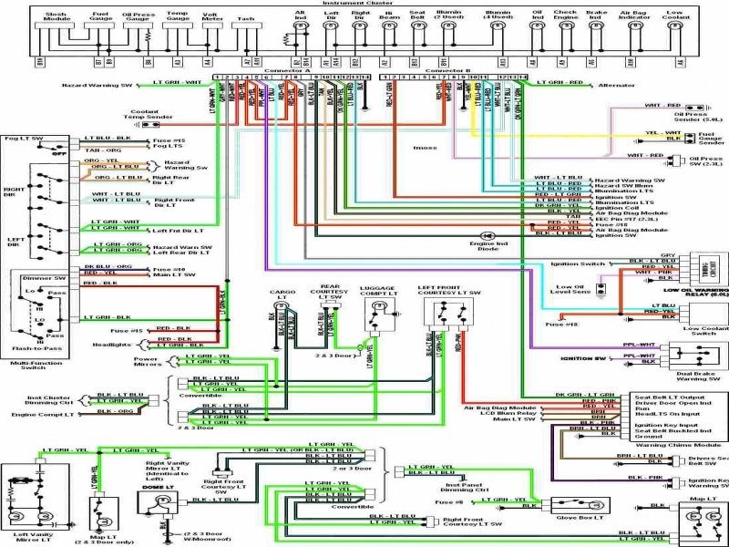 1989 ford mustang wiring diagram - dolgular, Wiring diagram
