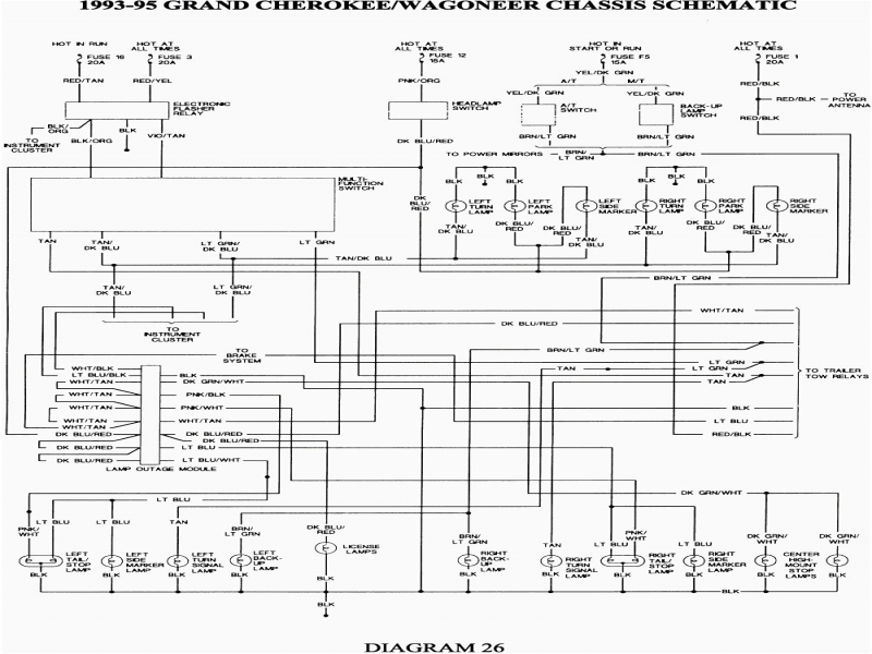 2003 Jeep Grand Cherokee Fuse Box Diagram  Wiring Forums