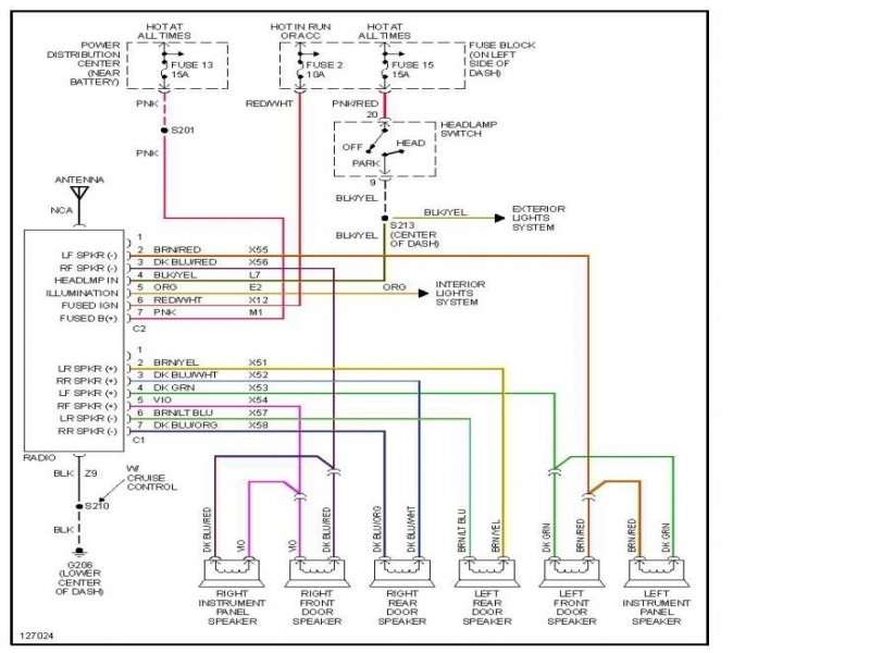 2007 Dodge Caliber Stereo Wiring Diagram  Wiring Forums